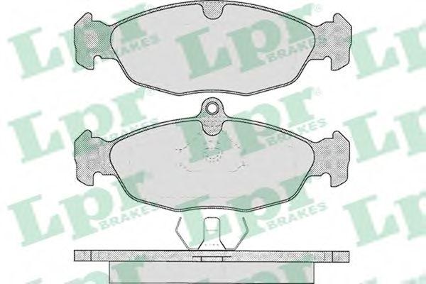 Тормозные колодки LPR 05P599