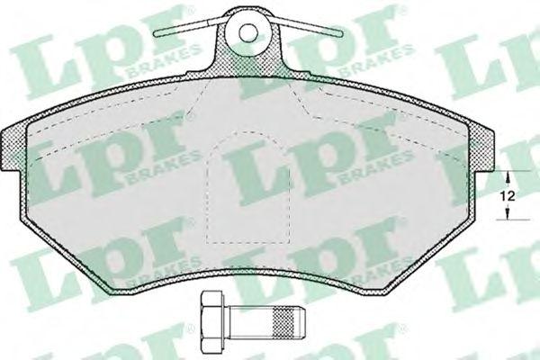 Тормозные колодки LPR 05P600