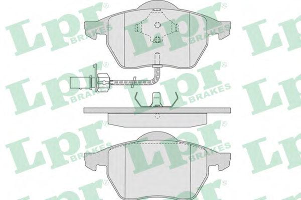 Тормозные колодки LPR 05P790