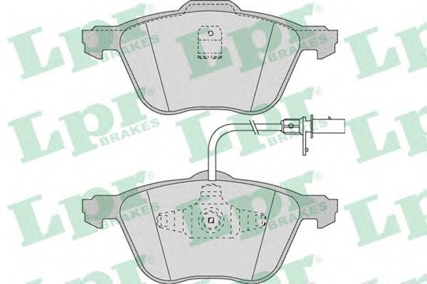 Тормозные колодки LPR 05P971