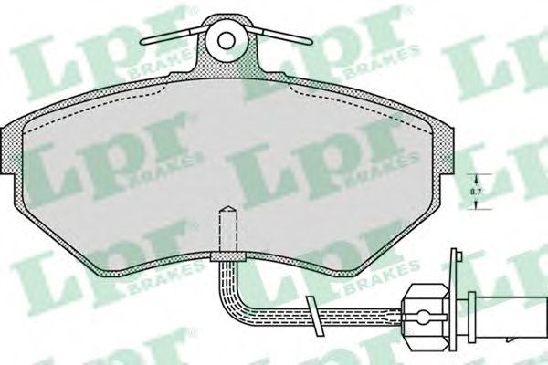 Тормозные колодки LPR 05P979