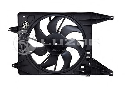 Вентилятор радиатора кондиционера LUZAR LFc0966