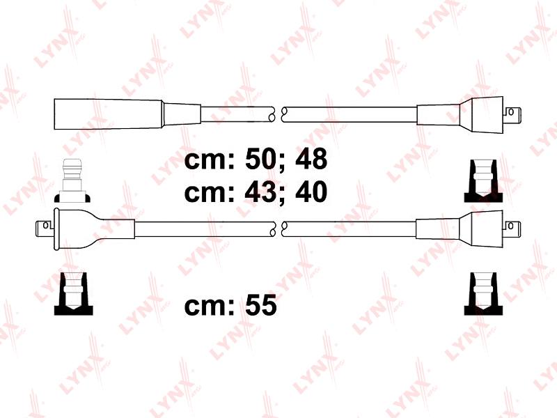 Провода высоковольтные LYNXauto SPC4605