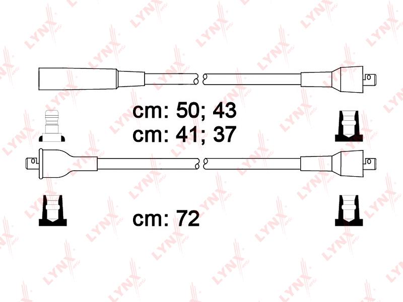 Провода высоковольтные LYNXauto SPC4606