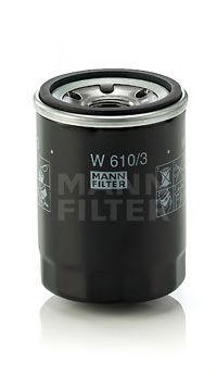 Масляный фильтр MANN-FILTER W6103
