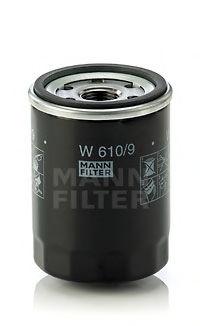 Масляный фильтр MANN-FILTER W6109