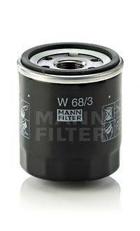 Масляный фильтр MANN-FILTER W683