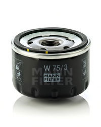 Масляный фильтр MANN-FILTER W753