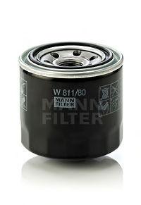 Масляный фильтр MANN-FILTER W81180