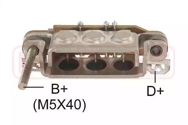 Мост диодный генератора MESSMER 216188