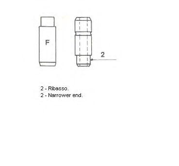 Направляющая клапана METELLI 011333