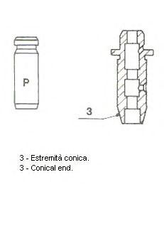 Направляющая клапана METELLI 012907