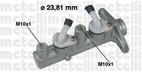Главный тормозной цилиндр METELLI 050337