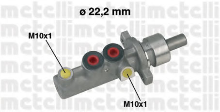 Главный тормозной цилиндр METELLI 050348