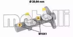 Главный тормозной цилиндр METELLI 050827