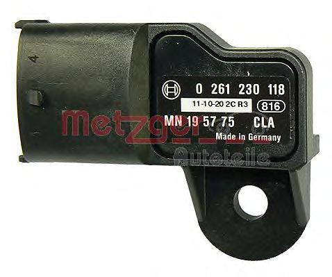 Датчик давления наддува METZGER 0906105