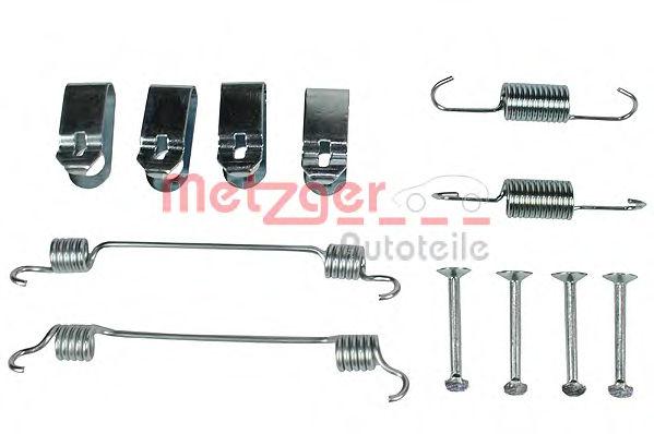 Ремкомплект барабанных колодок METZGER 1050019