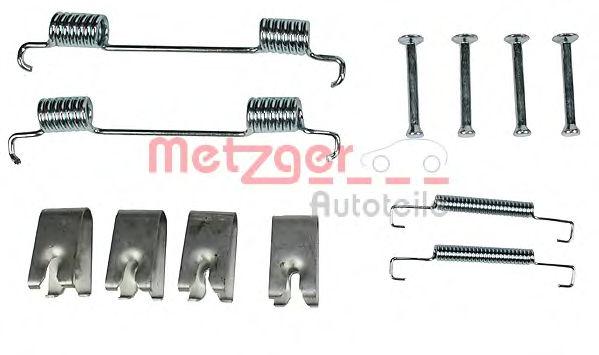 Ремкомплект барабанных колодок METZGER 1050023