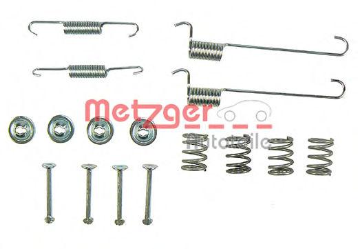 Ремкомплект барабанных колодок METZGER 1050848