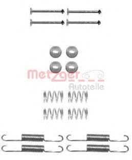 Ремкомплект барабанных колодок METZGER 1050880