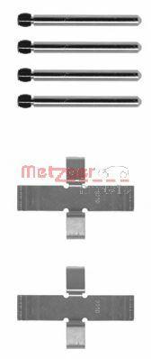 Скобы тормозных колодок METZGER 1090902