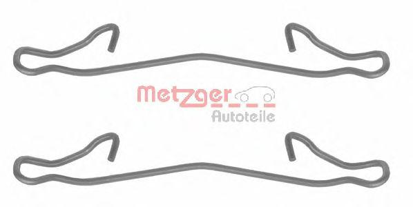 Скобы тормозных колодок METZGER 1091121