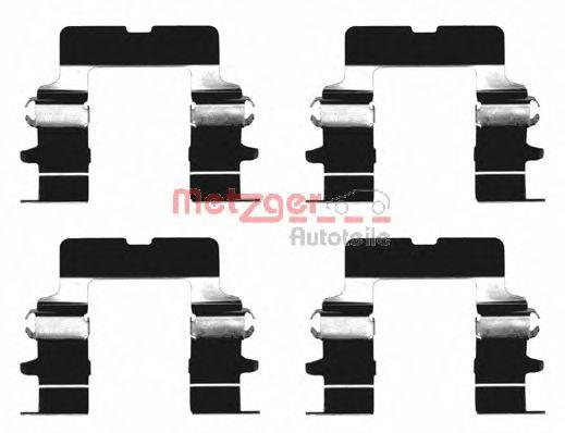 Скобы тормозных колодок METZGER 1091161
