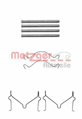 Скобы тормозных колодок METZGER 1091209