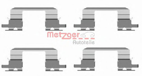 Скобы тормозных колодок METZGER 1091672