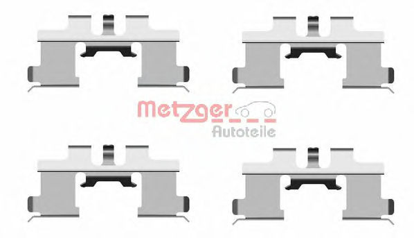 Скобы тормозных колодок METZGER 1091677