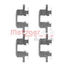 Скобы тормозных колодок METZGER 1091711