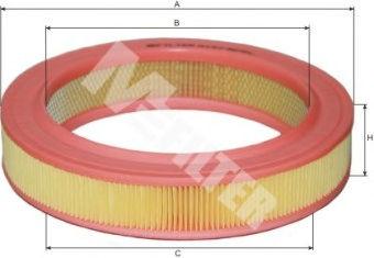 Воздушный фильтр MFILTER A127