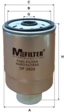 Топливный фильтр MFILTER DF3509