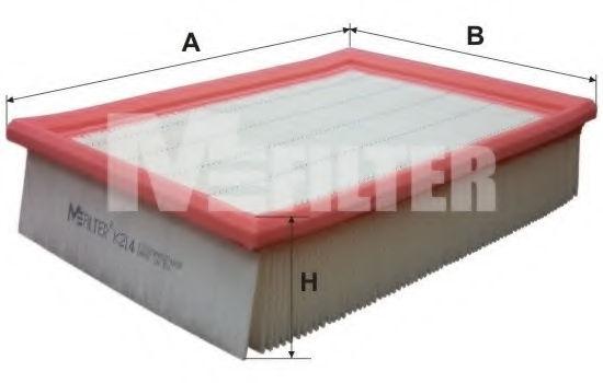 Воздушный фильтр MFILTER K214