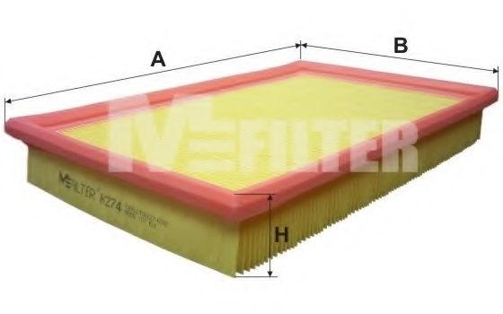 Воздушный фильтр MFILTER K274