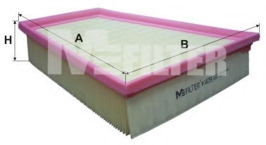 Воздушный фильтр MFILTER K409