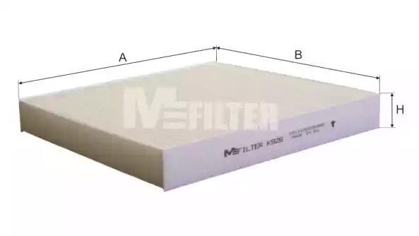 Фильтр салона MFILTER K926