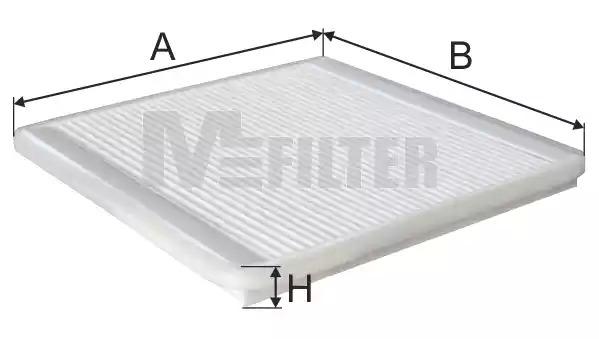 Фильтр салона MFILTER K980