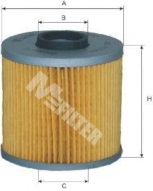 Масляный фильтр MFILTER TE602