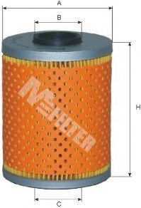 Масляный фильтр MFILTER TE603