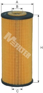 Масляный фильтр MFILTER TE604