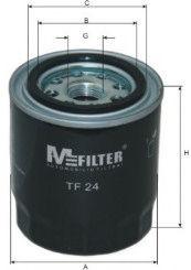 Масляный фильтр MFILTER TF24