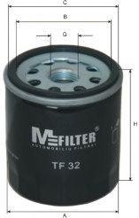 Масляный фильтр MFILTER TF32