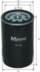 Масляный фильтр MFILTER TF40