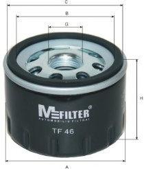 Масляный фильтр MFILTER TF46