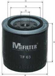 Масляный фильтр MFILTER TF63