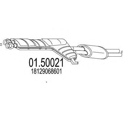 Резонатор MTS 0150021
