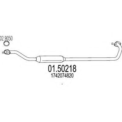 Резонатор MTS 0150218