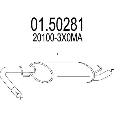 Резонатор MTS 0150281