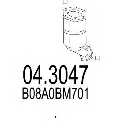 Катализатор MTS 043047